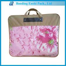 Duvet Bags Plastic Carry Bag Design Duvet Bag With Zipper And Handle Buy