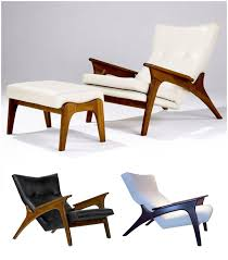 adrian pearsall lounge chair for craft associates the mid