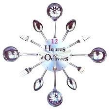 horloge murale cuisine originale horloge de cuisine moderne decoration moderne horloge cuisine