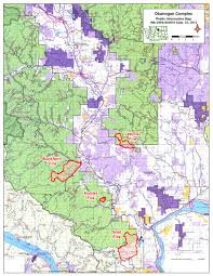 Wildfire Map Okanogan Complex Fires News Brief Methow Grist