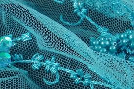 teal tulle buy teal lace and tulle lace fabric sewing fabrics