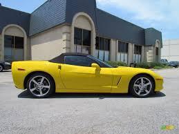 2008 chevrolet corvette convertible velocity yellow 2008 chevrolet corvette convertible exterior photo