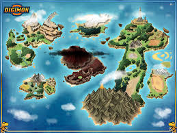 New World Order Map by Digimon World Map Commission By Stratomunchkin On Deviantart