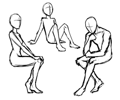 simple chair sketch once you have drawn your basic skizze