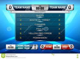 design games to download scoreboard game design stock vector illustration of chionship