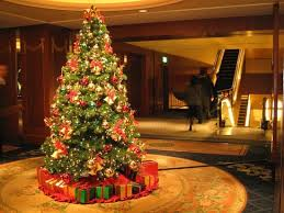 colored lights christmas tree decorating ideas home design