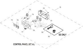 generac 0059430 gp7500e parts diagrams
