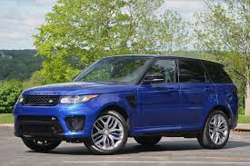 range rover sport blue 2015 land rover range rover sport svr first drive photo gallery