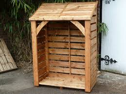 wood store cedar wood log store 6 x 4 wide 495 00 wood stores