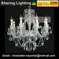 Chandelier Lights Price Huizhuo Lighting Free Shipping Clear Glass Candle Chandelier Light