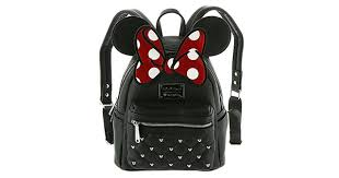 cute loungefly minnie mouse mini backpack