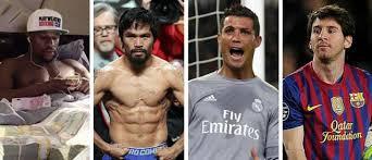 jugador mejor pagado del mundo 2016 la lista de los 10 deportistas mejor pagados del mundo as com