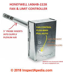 adjustable fan limit switch furnace fan limit switch how does a fan limit switch work how to