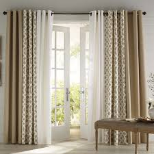 Curtains For Sliding Doors Make The Most Of Your Living Room And Dining Room Combo Patio