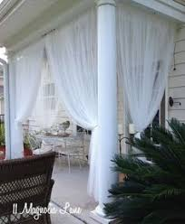 Mosquito Netting Curtains How To Create Mosquito Netting Curtains For Patio Porch Make