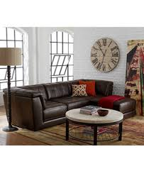 Stacey Leather Sectional Sofa Stacey Leather Modular Living Room Furniture Collection