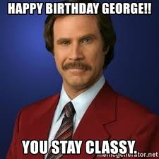 George Meme - happy birthday george meme mne vse pohuj