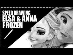 draw elsa anna u0027frozen u0027 elsa anna video fanpop