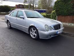 mercedes e class 2001 silver 2 2 diesel 6 speed manual long