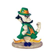 Notre Dame Infant Clothes Buy Henri Studio College Mascot Notre Dame Leprechaun Statue