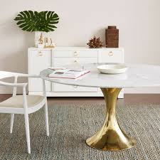 Brass Dining Table Bungalow 5 Stockholm Dining Table Brass U0026 White Candelabra Inc