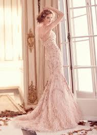 pink embroidered wedding dress impressive lazaro wedding dresses lazaro bridal bridals lori