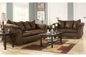 living room cafe ashley darcy cafe 2 pc living room set 7500438 7500435 home