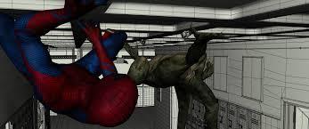 spider man detailed vfx spiders lizards fxguide