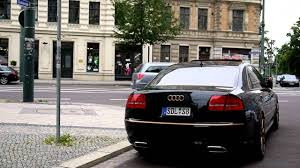 lexus ls600 vs audi a8 audi s8 w12 a8 exhaust tips by incarstyle youtube