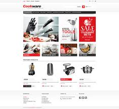 Kitchen Design Template by Website Template 45423 Cookware Kitchen Supplies Custom Website