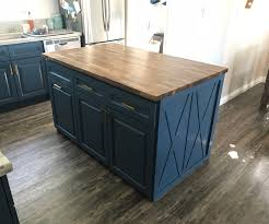 how do you attach island cabinets to the floor building my own butcher block kitchen island 22 steps