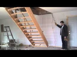 retractable stairs youtube garages and sheds pinterest