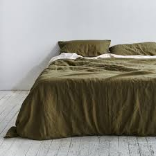 moss green duvet cover 3856