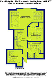 Nottingham Arena Floor Plan by 2 Bedroom Apartment For Sale In Park Heights Nottingham Ng1 Ng1