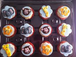 animal baby shower cupcake ideas for you
