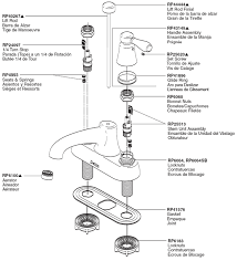 standard kitchen faucet parts diagram replacement kitchen faucet handles imindmap us