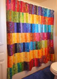 Multi Colored Curtains 37 Funky Bathroom Shower Curtains Ultimate Home Ideas