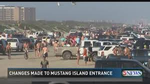 mustang island state park weather changes made to vehicle entry at mustang island state park