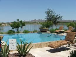 Homes For Rent In Az by Phoenix Arizona Waterfront Homes Cantamia In Estrella Mountain