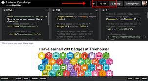 bootstrap tutorial treehouse adding treehouse badges widget to site codetteclub medium