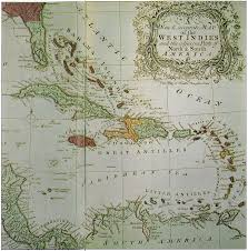 Caribbean Maps by British Empire In The Caribbean Maps