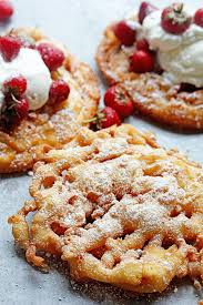 strawberry shortcake funnel cakes grandbaby cakes