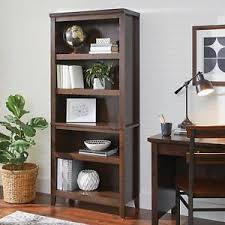 better homes and gardens bookcase better homes and gardens parker 5 shelf bookcase estate toffee