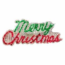 lighted merry christmas yard sign lighted merry christmas sign compare prices at nextag