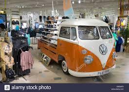 volkswagen philippines a classic volkswagen camper van used in a retail environment