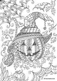 horror scenes pumpkin favoreads coloring club printable