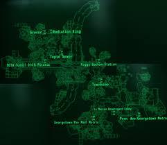 Georgetown Map Image Georgetown Map Jpg Fallout Wiki Fandom Powered By Wikia