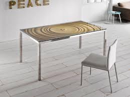 bon bon square table by potocco design alexander lorenz