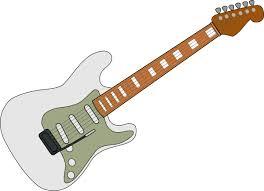 white fender strat clip art at clker com vector clip art online