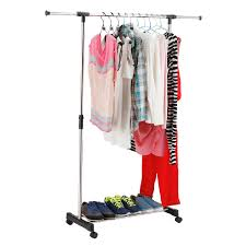 69 u0026 034 portable closet storage organizer wardrobe clothes rack